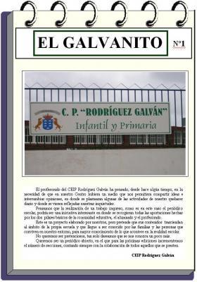 """Nuestro Periódico: """"El Galvanito""""."""