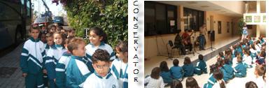 Visita al Conservatorio de Música de Santa Cruz de Tenerife.